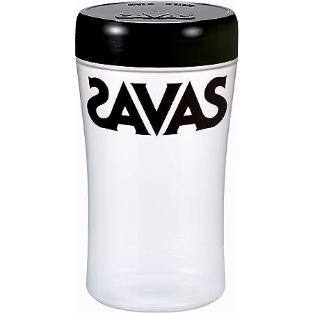 明治 ザバス(SAVAS) プロテインシェイカー (500ml) 黒(ブラック) 1個
