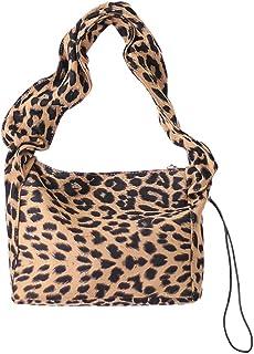 TENDYCOCO Borsa a Tracolla Singola Animale Borsa a Tracolla Leopardata Borsa a Tracolla Leopardata per Donne Ragazze