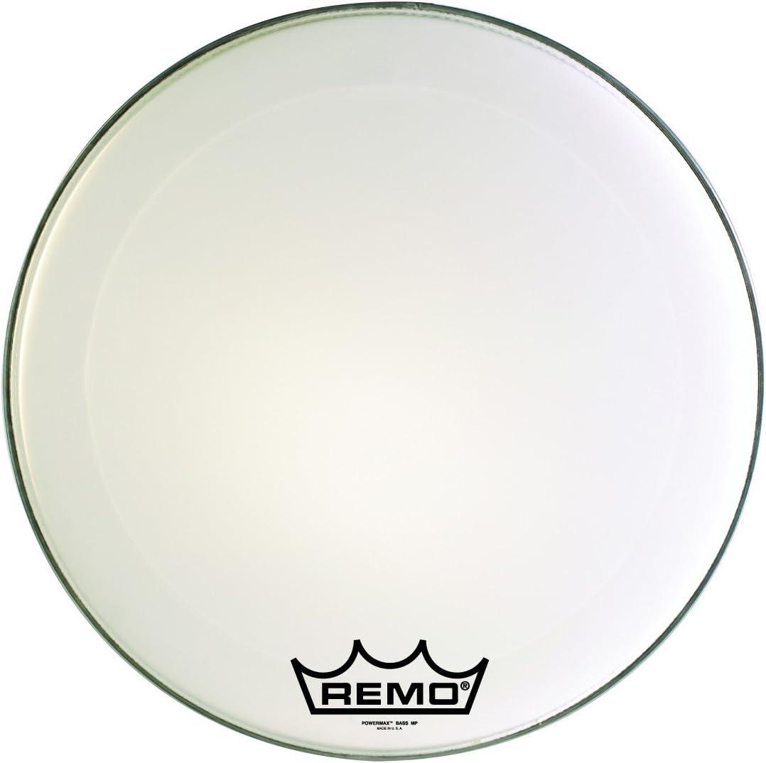 Remo Powermax Ultra White Drumhead 2021 supreme Crimplock 26