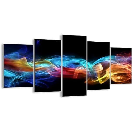 ARTTOR Tableau Decoration Murale Salon - Impression sur Verre - Toutes Tailles et Différents Thèmes Graphiques - Tableaux, Posters et Arts Décoratif - GEA160x85-2171