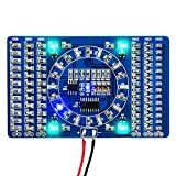 AiTrip DIY Kit Learning Training Suite SMD LED Welding Practice Soldering Skill Training Board