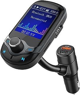 Nulaxy Bluetooth FM Transmitter 1.8