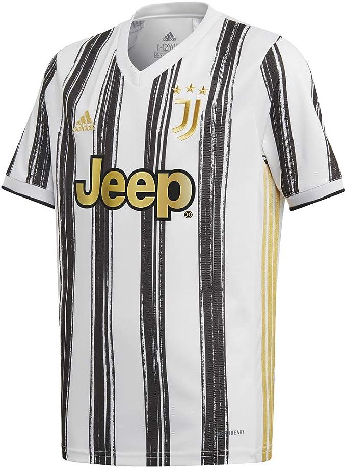 Juventus Maglia Gara Home Stagione 2020/2021 - Partite in Casa - Bambino - 100% Prodotto Ufficiale - 100% Originale - Scegli la Taglia