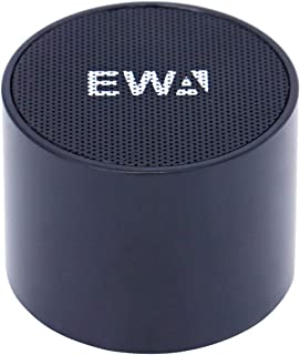 EWA A101 Portable Bluetooth Waterproof Speaker with Mic - Color Black