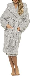 Daisy Dreamer - Albornoz para mujer, suave con capucha, con capucha, para albornoz