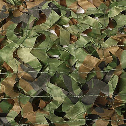 Yaheetech Tarnnetz Netz Tarnung Armee für Jagd Outdoor, 4 x 1,5M