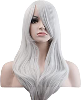 Best long silver cosplay wig Reviews