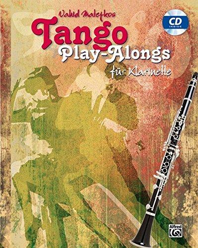 Vahid Matejkos Tango Play-alongs für Klarinette