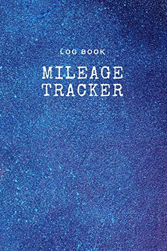 Log Book Mileage Tracker: Record Log Book Vehicle Mileage Log Book for Business or Individual : Night starry sky Theme