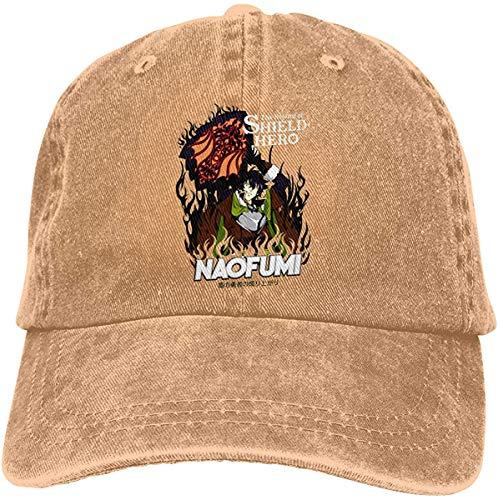 273 Gorra de béisbol Jeanet de algodón Ajustable para Mujer para Hombre Shield Hero Naofumi Iwatani Hip Hop Caps