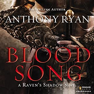 Blood Song     Raven's Shadow, Book 1              By:                                                                                                                                 Anthony Ryan                               Narrated by:                                                                                                                                 Steven Brand                      Length: 23 hrs and 5 mins     13,322 ratings     Overall 4.6