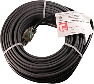 Thermal Resources Management Self-Regulating De-Icing Roof Heating Cable - for Heat Tracing and Ice Dam Prevention - Direct Plug-in System - 120 Volts (100 Feet + 6 Feet Cold Lead)