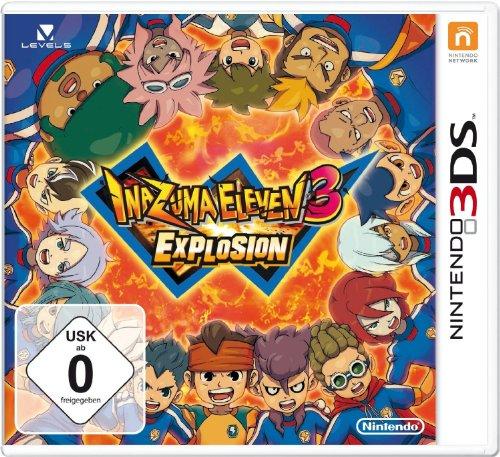 Nintendo Inazuma Eleven 3 Explosion, 3DS - Juego (3DS)
