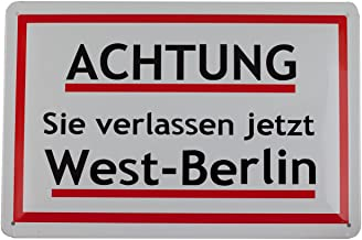 Pawlowski Souvenirs & Postkarten Achtung Sie verlass