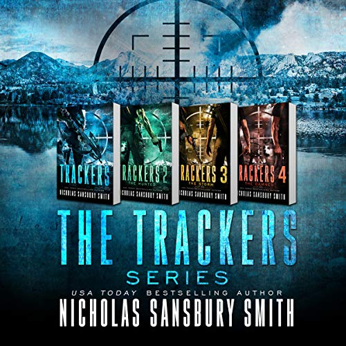 The Trackers Series Box Set audiobook cover art