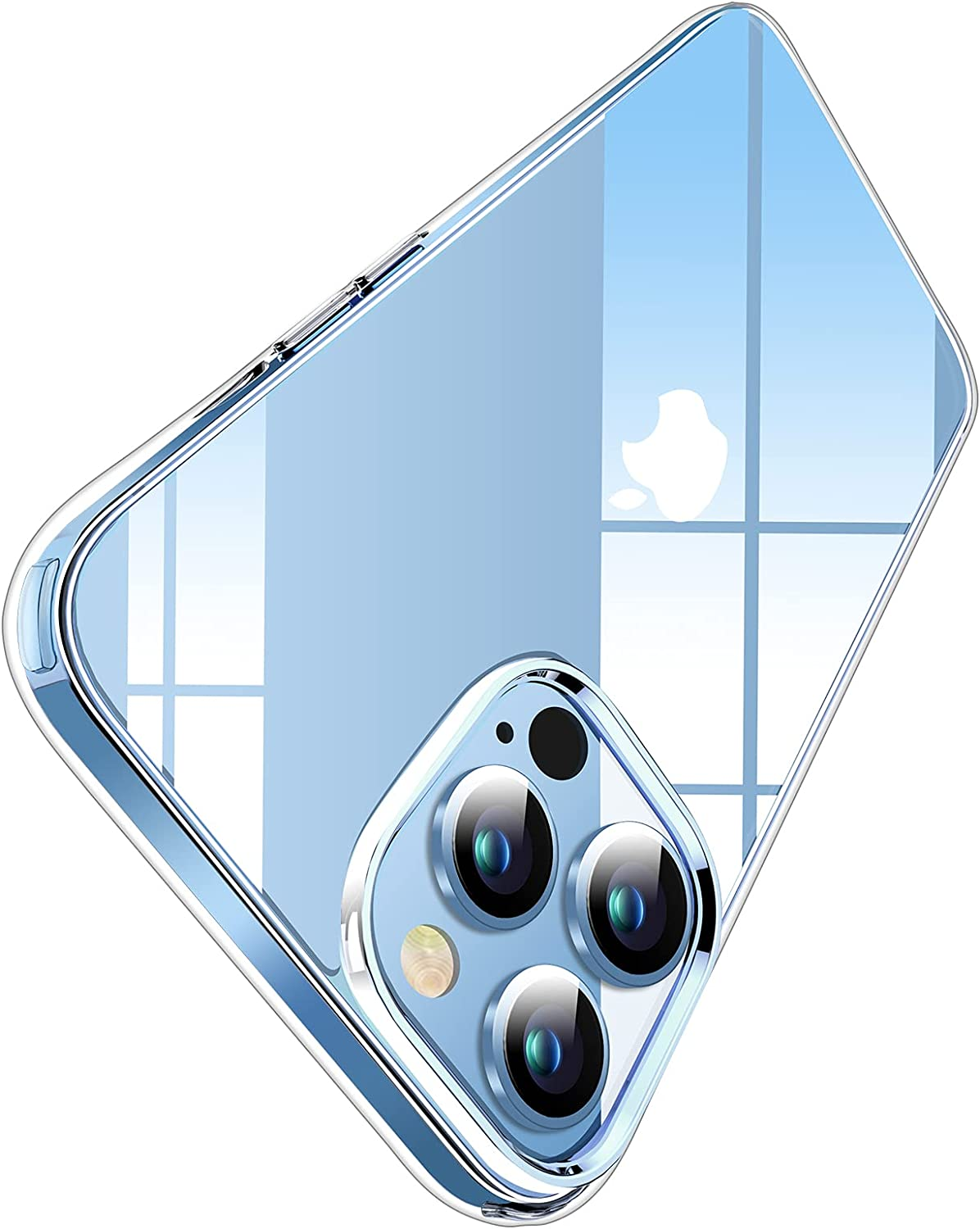 Miracase Crystal Clear Compatible with iPhone 13 Pro Max Case(6.7
