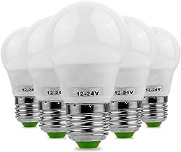 Led bulbs, YWXLIGHT, E27 5730SMD 3W 6LED 200-300Lm Warm White Cold White Super High Brightness LED Bulb (AC/DC 12-24V) led...