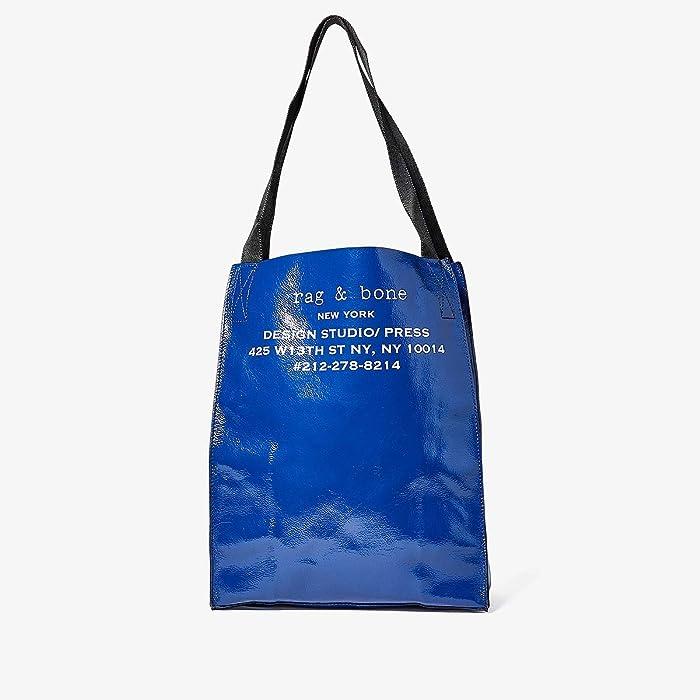 rag and bone  425 Packable Tote (Blue) Handbags