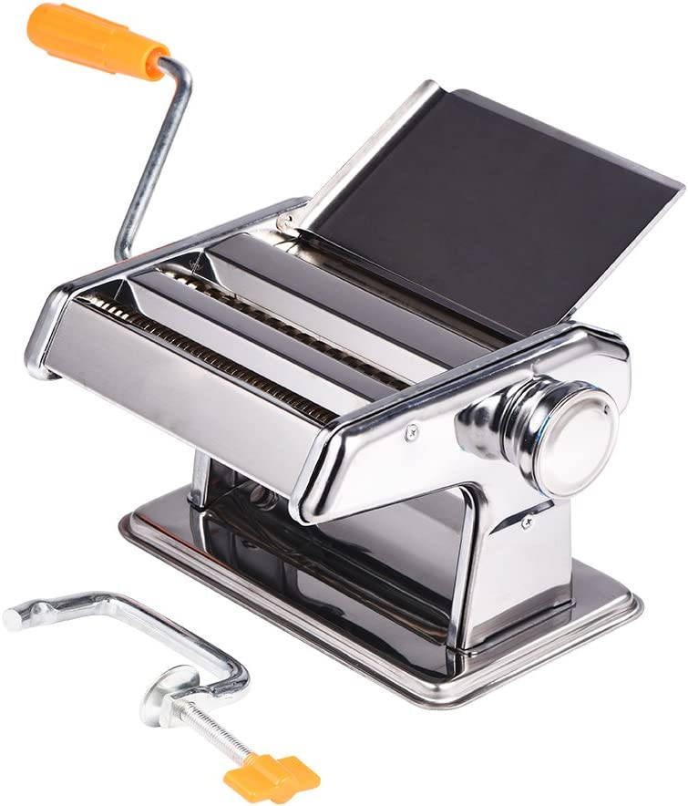 YAZR Stainless Steel Household Pasta Noodl Manual NEW before selling ☆ Making Ranking TOP2 Machine