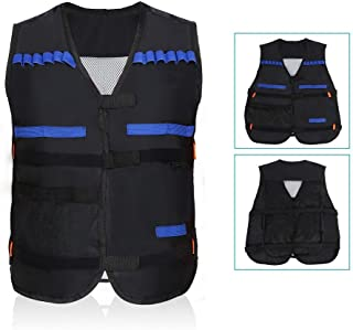 Yosoo Children Elite Tactical Vest Kids Vest for Nerf Guns N-Strike Elite Series
