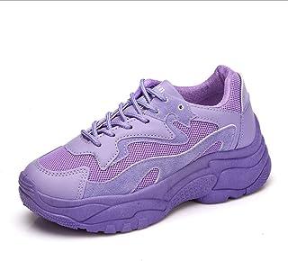 d6587feed8 LIANGXIE Zapatillas Deportivas Corrientes Ligeras Y Transpirables para  Mujer Zapatillas De Moda Zapatillas para Caminar Zapatos