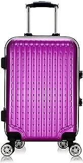 LFSP Luggage Wheels Hardside Suitcase Fashion Classic Hard Roller Trolley Suitcase Trolley Suitcase Zipper Suitcase Aluminum Frame, Lightweight Luggage Boarding 24inch Travel Essentials