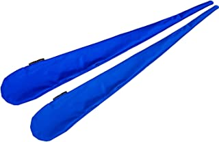 Pro Sock Poi (BLUE) Flames N Games Pro Spinning Poi Socks - Pair of Quality Stretchy Lycra Poi Socks.