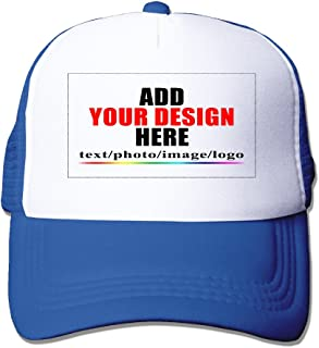 Customized Mesh Cap Hat - Design Your Own Caps Hats - Add Your Custom Image Text