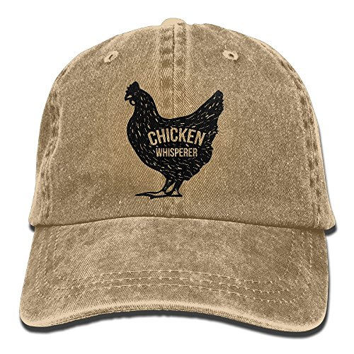 Buyiyang-01 Men Women Chicken Whisperer Denim Jeanet Baseball Hat Adjustable Dad Hat