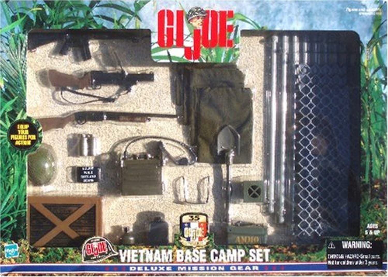 GI Joe Vietnam Base Camp Set Deluxe Mission Gear