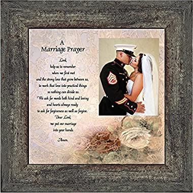Prayer for you Marriage, Personalized Picture Frame, 10X10 6757BW