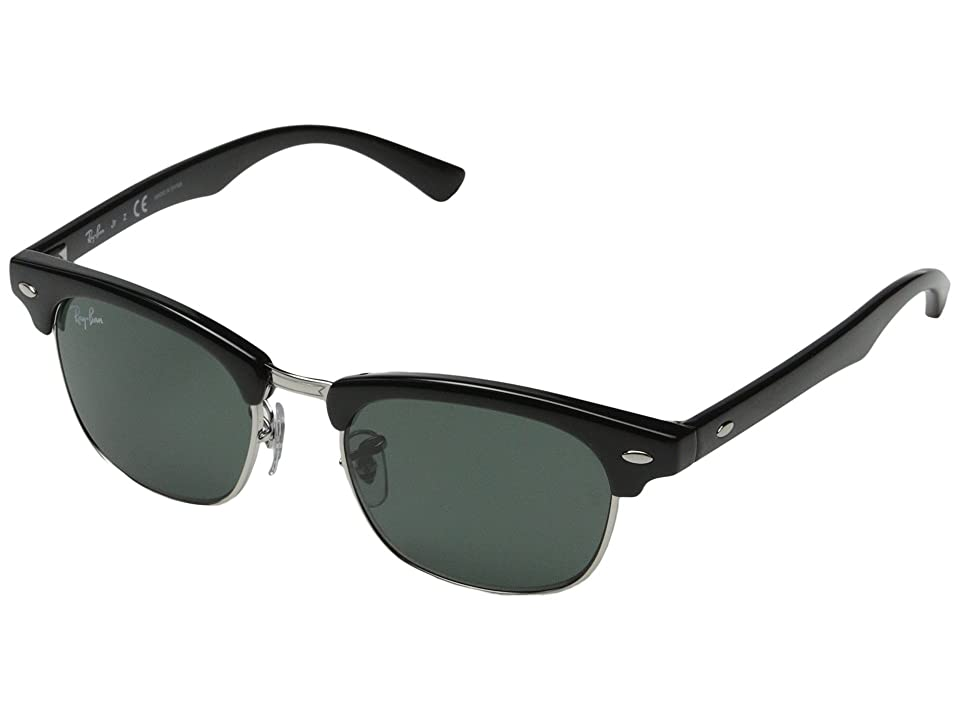 Ray-Ban Junior RJ9050S Clubmaster 45mm (Youth) (Black) Fashion Sunglasses