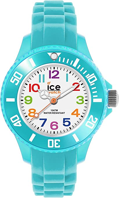 Ice-Watch - ICE mini Turquoise - Boy's (Unisex) wristwatch with silicon strap - 012732 (Extra Small)