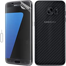 [Easy to Install] Front Back Soft Film Screen Protector for MetroPCS Samsung Galaxy S7 SM-G930T1 [Scratch Resistance] [Anti-Scratch]