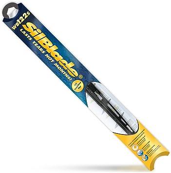 "Silblade WB122S Premium Black Silicone Wiper Blade, 22"" (Pack of 1): image"