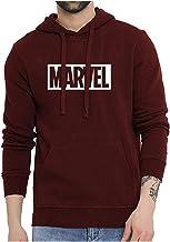 Mythili Essentials Super Hero Marvel Printed Unisex Pullover Cotton Hoodies Sweatshirt for Men and Women/Printed Hoodie/Graphic Printed Hoodie/Hoodie for Men & Women/Warm Hoodie/Unisex Hoodie