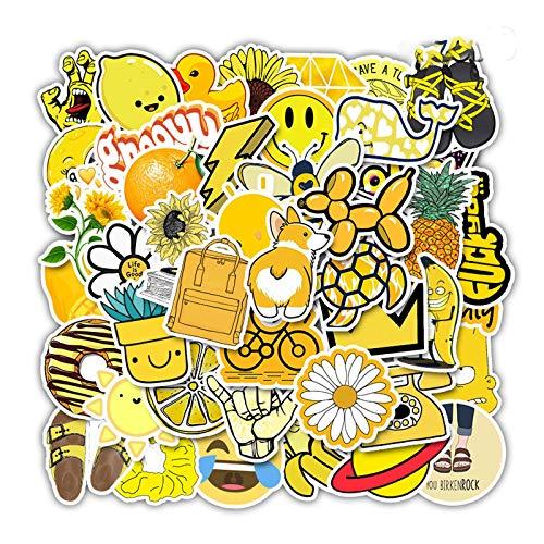 ZXIAQI 50 Pcs Cute Stickers, Laptop and Water Bottle Decal Sticker Pack for Teens, Girls, Women Vinyl Stickers Waterproof
