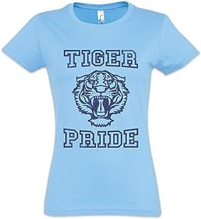 Tiger Pride Camiseta de Mujer Women T-Shirt