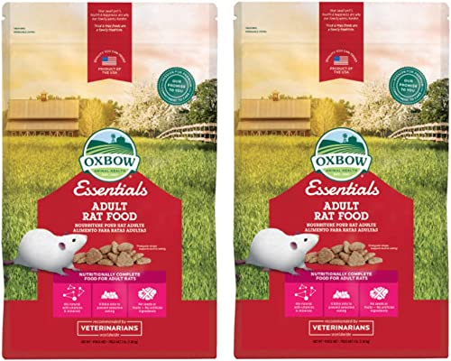 Oxbow Essentials - Adult Rat Food 6 Pound (2 x 3 Pound Bags)