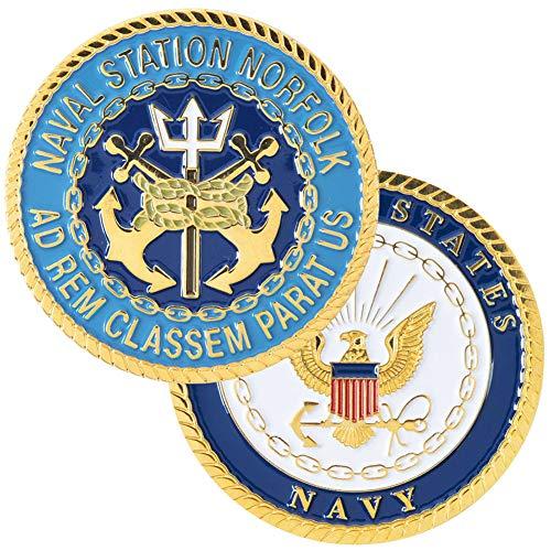 Navy Norfolk Challenge Coin