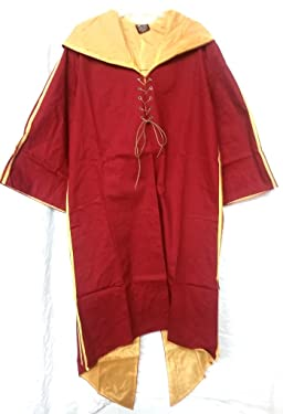 Harry Potter Quidditch Gryffindor Robe Habber & Dasher Discontinued SIZE - ADULT EXTRA LARGE LONG