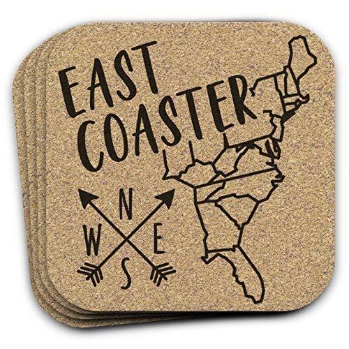 East Coaster Deluxe Drink Coastal Decor Spring new work of Set Housewarm Gift 4