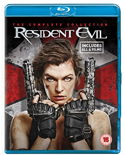 Resident Evil / Resident Evil: Afterlife / Resident Evil: Apocalypse / Resident Evil: Extinction / Resident Evil: Retribution / Resident Evil: The Final Chapter - Set [Blu-ray] [UK Import]