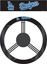 MLB Los Angeles Dodgers Poly-Suede Steering Wheel Cover