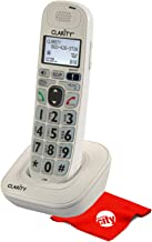 $39 » Clarity D702HS Moderate Hearing Loss Amplified Big Buttons Large Backlit Keypad Cordless Additional Expandable Handset for...