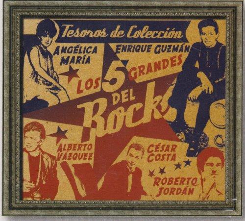 LOS 5 GRANDES DEL ROCK-TESOROS DE COLECCION