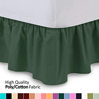 Best gray ruffle bed skirt Reviews