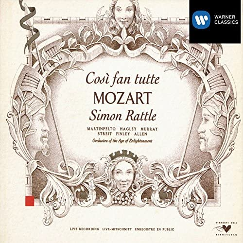 Hillevi Martinpelto/Alison Hagley/Ann Murray/Kurt Streit/Gerald Finley/Sir Thomas Allen/Choir Of The Age Of Enlightenment/Orchestra Of The Age Of Enlightenment/Sir Simon Rattle