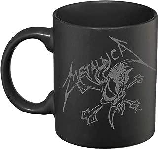 Metallica Mug Scary Sketch Band Logo Official Black