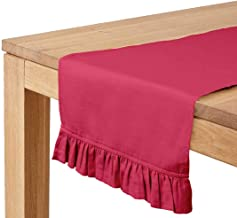 Vargottam Fuschia Pink Home Décor Stylish Wedding Party Holiday Table Setting Décor Table Runner-14 x 36 Inch
